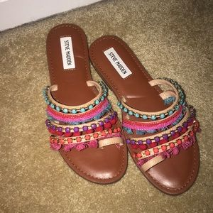 Steve Madden Multicolored Sandals
